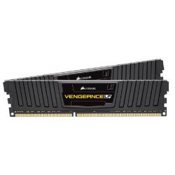 8GB (2x4GB) Corsair Vengeance Low Profile Black DDR3-1600 CL9 RAM - Kit Bild0