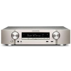 Marantz NR1506 5.1 AV Receiver 4K AirPlay Bluetooth Spotify - Silber Bild0