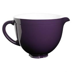 KitchenAid 5KSMCB5RP Keramikschüssel 4,8L regal purple - brombeer Bild0