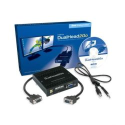 Matrox DualHead 2 Go VGA-Splitter Multi-Display Bild0