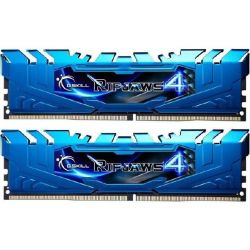 16GB (2x8GB) G.Skill Ripjaws 4 Blau DDR4-3000 CL15 (15-15-15-35) RAM DIMM Kit Bild0