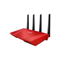 ASUS AC2400 RT-AC87U Red 2334Mbit DualBand WLAN Gigabit Router Bild0