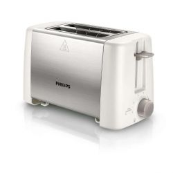 Philips Daily Collection HD4825/00 Toaster Weiß Edelstahl Bild0