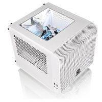 Thermaltake Core V1 Snow Mini-Tower  Mini-ITX Gehäuse  (o.NT.)