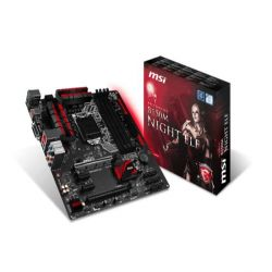 MSI B150M Night Elf USB3.1/Gaming-LAN/DVI B150 mATX Mainboard Sockel 1151 Bild0
