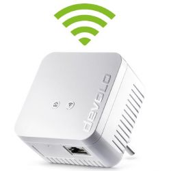 devolo dLAN 550 WiFi (500Mbit, Powerline + WLAN, 1xLAN, WLAN, Slim-Design) Bild0
