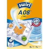 Swirl A 08 MicroPor Plus AirSpace Staubsaugerbeutel (4er Pack)