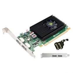 PNY Quadro NVS 310 NVIDIA 1GB DDR3 PCIe 2xDP  Low Profile  Bild0