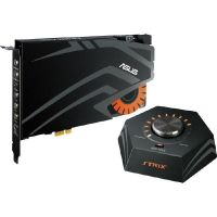 Asus Strix Raid DLX PCIe 7.1 Gaming Soundkarten Set 124dB SNR