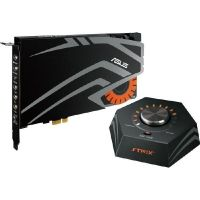 Asus Strix Raid Pro PCIe 7.1 Gaming Soundkarten Set 116dB SNR