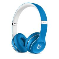Beats by Dr. Dre Solo2 On-Ear Kopfhörer (Luxe Edition) blau