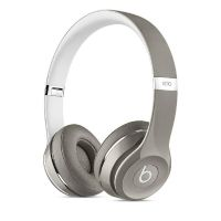 Beats by Dr. Dre Solo2 On-Ear Kopfhörer (Luxe Edition) silber