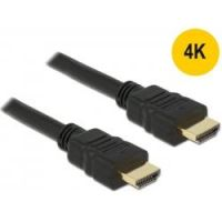 DeLOCK HDMI High Speed with Ethernet Kabel St./St. 4K 0,5m