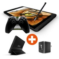 NVIDIA® SHIELD™ Tablet K1 WiFi 16 GB Android 6.0 schwarz Bundle