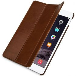 Stilgut Ultraslim Leder Bookcover für Apple iPad Pro 12,9 cognac Bild0