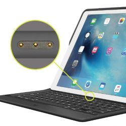 Logi Create Keyboard Case iPad Pro 12,9 Weave Black 920-007825 Bild0