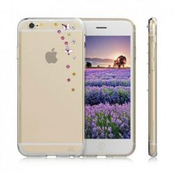 Diamond Cover Jet Set Sky für iPhone 6/6s transparent Bild0