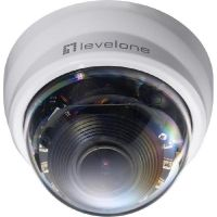 LevelOne FCS-4301 IP Surveillance 3-fach Zoom PTZ Dome Kamera Tag&Nacht 2MP PoE