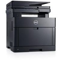Dell H625cdw Farb-Multifunktionslaserdrucker Scanner Kopierer Fax LAN WLAN NFC