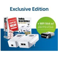 devolo dLAN 1200+ WiFi ac Starter Kit inkl. WiFi Stick ac