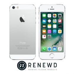 Apple iPhone 5s 32 GB silber Renewd Bild0