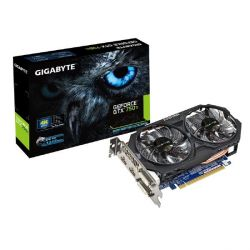 Gigabyte GeForce GTX 750Ti OC WindForce 4GB GDDR5 PCIe 2x DVI/2x HDMI Bild0