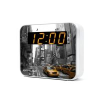 Muse M-165 NY Radiowecker mit FM/MW PLL Tuner - New York Design