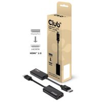 Club 3D DisplayPort 1.2 auf HDMI 2.0 4K60Hz UHD Aktiver Adapter CAC-1070