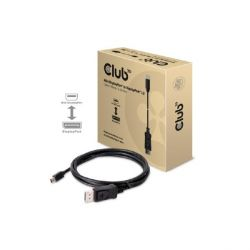 Club 3D Mini DisplayPort auf DisplayPort 1.2 4K60Hz UHD Kabel 2m CAC-1163 Bild0
