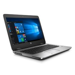 HP ProBook 640 G2 T9X60ET Notebook i5-6200U SSD matt Full HD 3G Windows 7/10 Pro Bild0