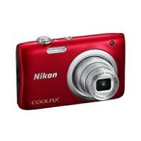 Nikon COOLPIX A100 Digitalkamera rot