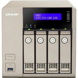 QNAP TVS-463-4G NAS System 4-Bay 10 GbE fähig Golden Cloud Turbo nNAS Bild0