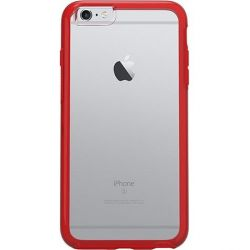 OtterBox Symmetry Series Clear für iPhone 6/6s rot Bild0