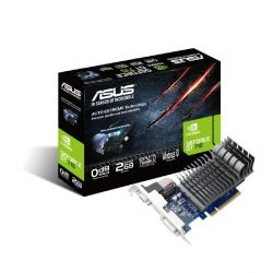 Asus GeForce GT 710 2-SL LP Silent 2GB PCIe DVI/HDMI/VGA passiv low profile Bild0