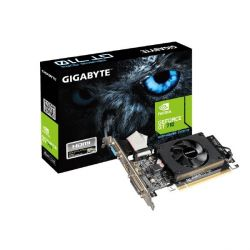 Gigabyte GeForce GT 710 2GB DDR3 DVI/HDMI/VGA Low Profile Grafikkarte Bild0