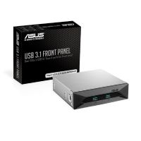 "Asus USB 3.1 Front Panel 5.25"" PCIe Steckkarte schwarz (2x Typ A)"