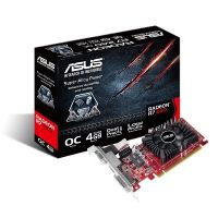Asus AMD Radeon R7 240 OC 4GB DDR3 Grafikkarte DVI/HDMI/VGA, Low Profile