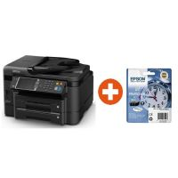 EPSON WorkForce WF-3640DTWF MFG-Drucker + Tintenmultipack 27