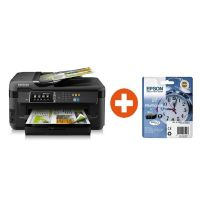EPSON WorkForce WF-7610DWF MFG Drucker + Tintenmultipack 27 + 30 EUR Cashback*