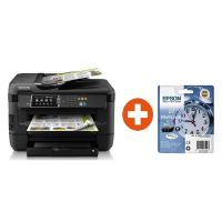 EPSON WorkForce WF-7620DTWF MFG Drucker + Tintenmultipack 27 + 30 EUR Cashback*