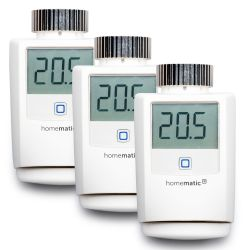 Homematic IP 3er Set Heizkörperthermostat HMIP-eTRV Bild0