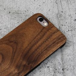 Woodcessories EcoCase Classic für iPhone 6/6s walnut+black Bild0
