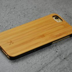 Woodcessories EcoCase Classic für iPhone 6/6s bamboo+black Bild0