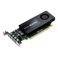 PNY Quadro K1200 4GB GDDR5 PCIe 2.0 4x Mini-DP Single-Slot Low Profile
