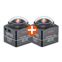 Kodak Pixpro SP360 4K Actioncam - BK5 Action Cam Dual Pro Pack
