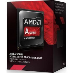 AMD A10-7860K Black Ed. (4x 3,6GHz) 4MB Radeon R7 Sockel FM2+ (Steamroller) Box Bild0