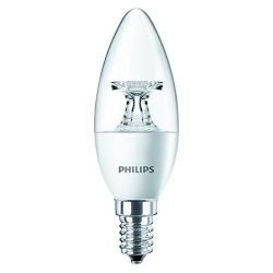 Philips LED Kerze 4W (25W) E14 klar warmweiß Bild0