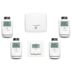 Homematic IP Heizungs Set L Access Point Wandthermostat Heizkörperthermostat Bild0