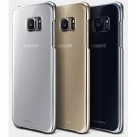 Samsung EF-QG935CS Back Cover für Galaxy S7 edge silber