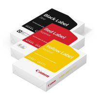 Canon Deutschlandbundle Black Red Yellow 3x 500 Blatt A4 Papier